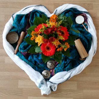 Mantra-Herz-Kreis